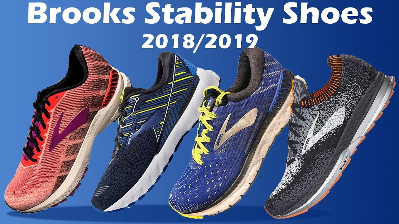 c922c23b5bc New Brooks Stability Shoes 2018 2019