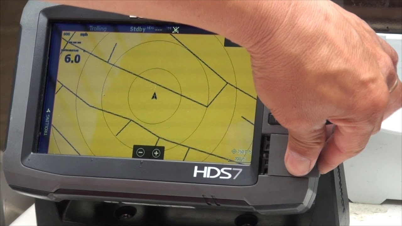 How to import GPX files into your lOWRANCE GPS fish finder