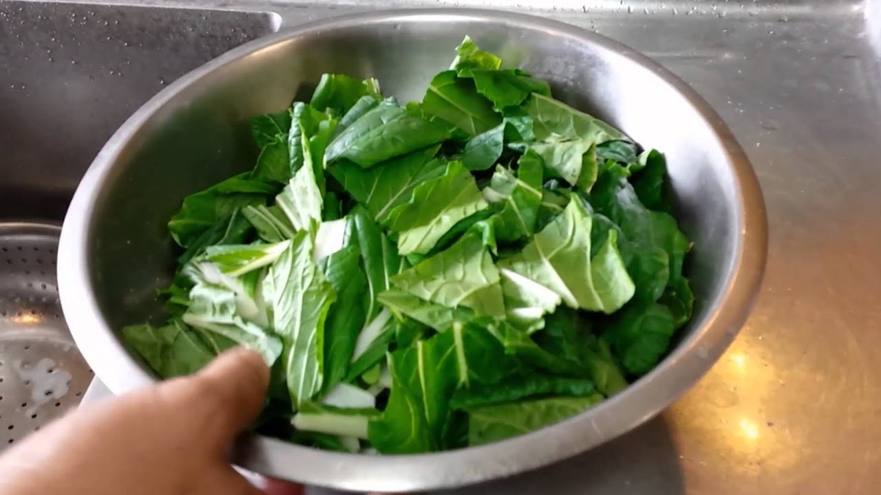 how to cook bok choy youtube