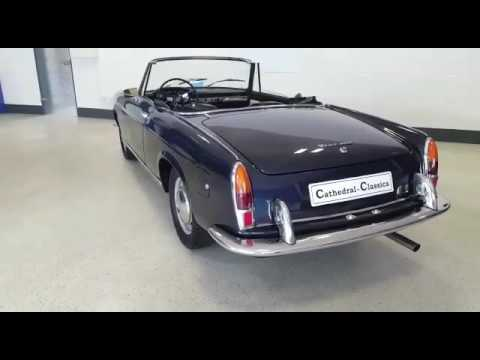 1961 Fiat 1200 Cabriolet Youtube