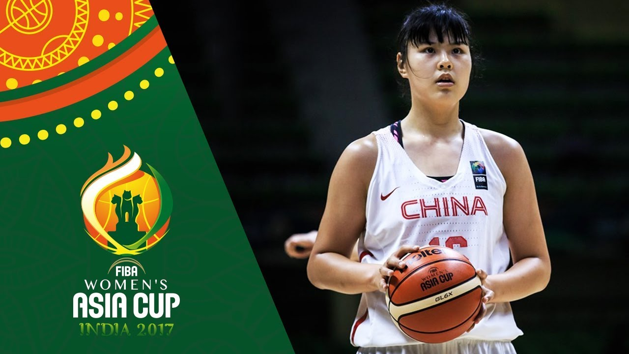 Yueru Li's best moments from the FIBA Women's Asia Cup 2017.