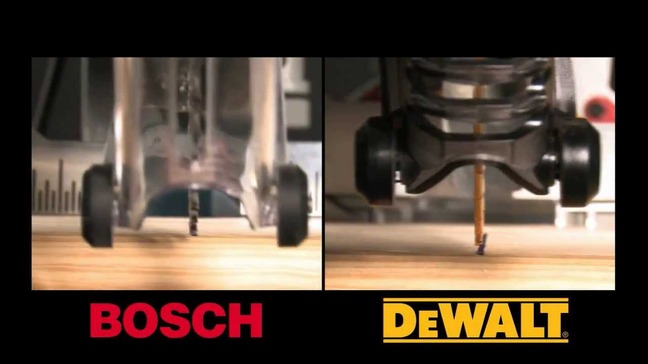 Dewalt Dws780 Vs Bosch Gcm12sd Miter Saw Review Youtube