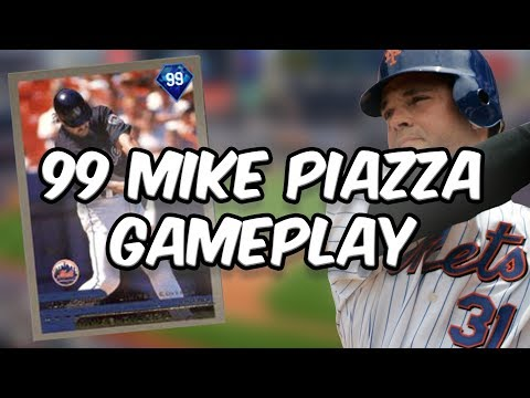 99 MIKE PIAZZA - CREATE A CARD - MLB 17 THE SHOW DIAMOND DYNASTY