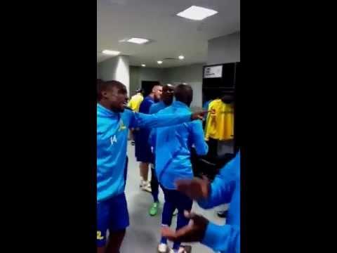 Behind the scenes | Mamelodi Sundowns FC locker room