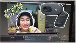 GATE - Đập Hộp Và Đánh Giá Webcam Logitech C270 - Mới Nhất Cho Streamer