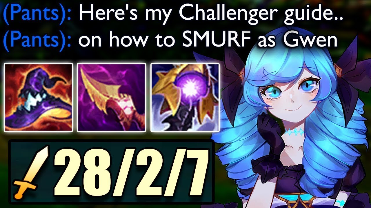 Download This is what 1500+ Ability Power on Gwen looks like.. (Challenger Guide on How to Play Gwen)