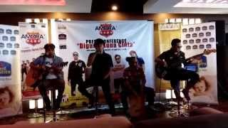 Amora Band - Diguna Guna Cinta (Live @ Amora Band KL Press Conference 2015)
