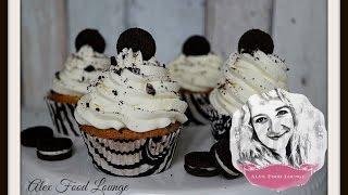 Oreo Cupcakes, Mascarpone-frosting