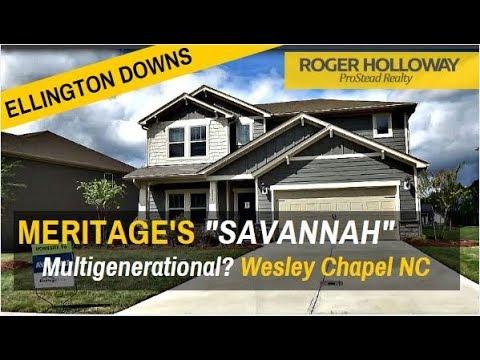 Ellington Downs - Meritage Homes SAVANNAH for Sale