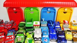 Go back to the Garage! Learn Colors with Disney Cars 3 Toy Collection for Kids!