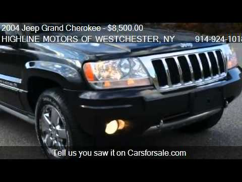 2004 Jeep Grand Cherokee Overland 4WD   For Sale In OSSINING