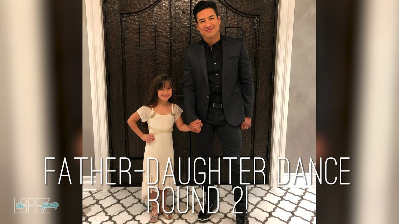 Father Daughter Dance 2018 Mario Lopez Youtube