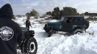 Holbrook Switchbacks, Nv. Snow Run
