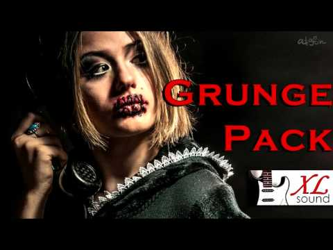 """Royalty-free Music """"Grunge Pack"""" Advertising and Background Music"""