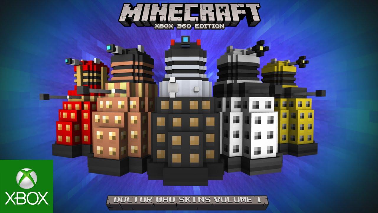 Minecraft Doctor Who Skin Pack YouTube - Skin para minecraft pc 1 11 2