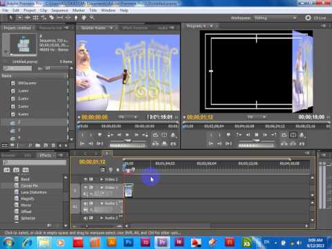 Cube Spin with Adobe Premiere