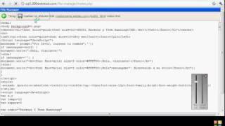 Como subir pagina html