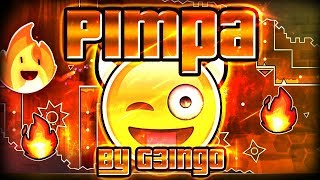 Geometry Dash - Pimpa 100% GAMEPLAY Online (G3ingo) MEDIUM DEMON