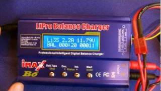 iMAX B6 Li-Po Charger Out of Box & Testing