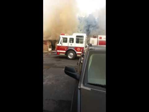 Fire in Greenville South Carolina