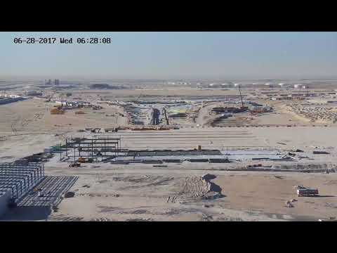 Kuwait International Airport New Passenger Terminal Construction site 09/09/2017