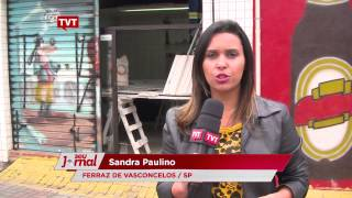 Show pirotécnico destrói comércios em Ferraz de Vasconcelos