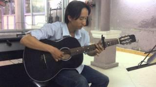 Guitar Người Ra Đi Đâu - nhạc hoa - Thầy Đinh Ngọc