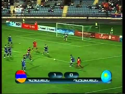 Армения-Казахстан 3-0 1-й тайм