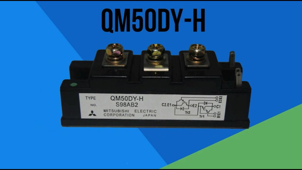 Qm50dy H Mitsubishi Power Transistor Module Youtube Sziklai Pair With The Circuit Shown You Construct A Pnp