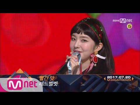 Top in 3rd of July, 'Red Velvet' with 'Red Flavor', Encore Stage! (in Full) M COUNTDOWN 170720 EP.53