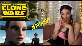 SENATE SPY & PADME'S PAST / Star Wars: The Clone Wars Reaction & Commentary / S2 Ep4