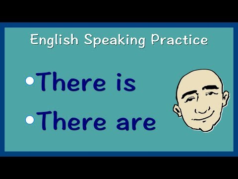 There Is and There Are | English Speaking Practice | ESL | E