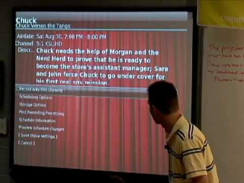 UTOSC 2008: Linux multimedia (MythTV)