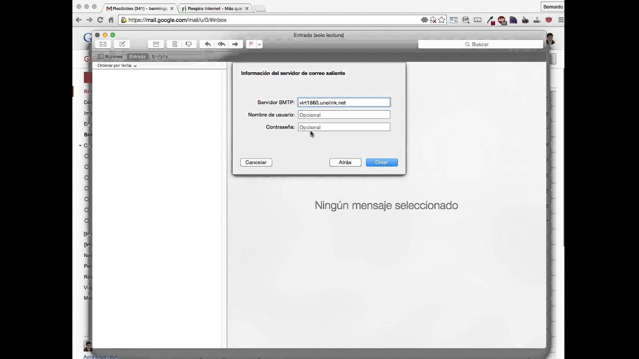 Configurar Correo Corporativo Con Mail De Mac Youtube