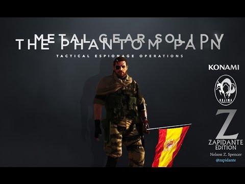 Metal Gear Solid V The Phantom Pain - Audio español (Spanish) Trailer