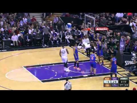 Cleaning the GLASS | New York Knicks Vs Sacramento Kings | 12/28/2012 | NBA Season 2012/13