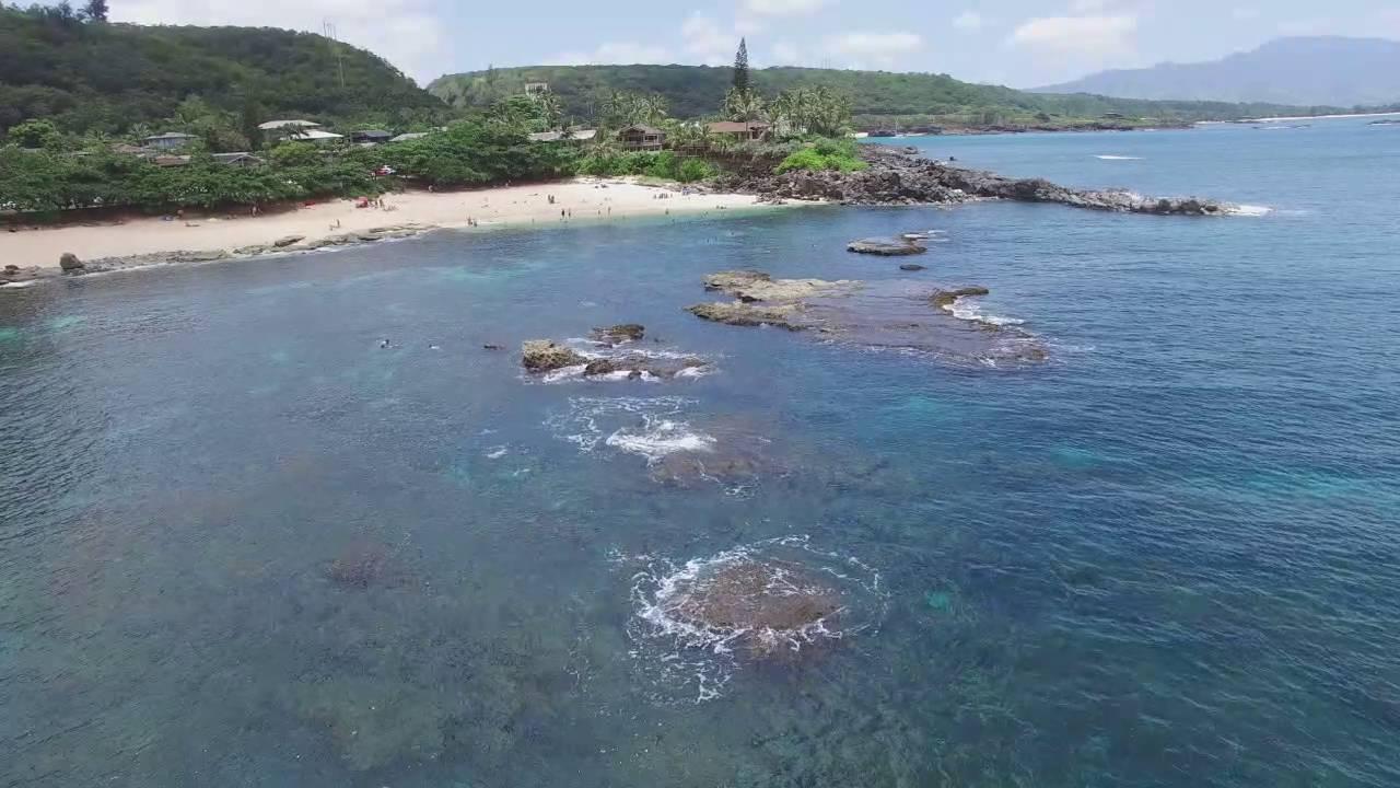 Three Tables Beach Oahu