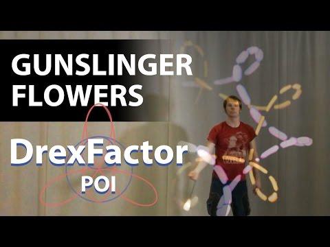 How to do Gunslinger Flowers & Hybrids: Poi Gunslingers 101 Tutorial