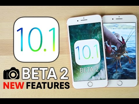 iOS 10.1 Beta 2 Released! 5 New Features & Changes Review