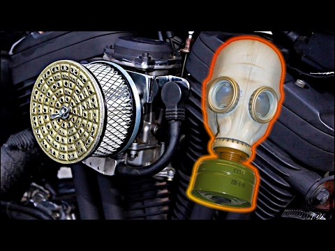 Russian Gas Mask Air Filter - Wasteland Wednesday