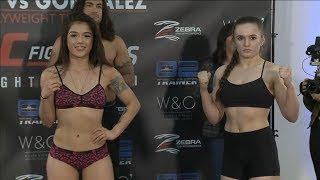 Tracy cortez vs. erin blanchfield - weigh-in face-off (invicta fc 34: porto gonzalez) r/wmma