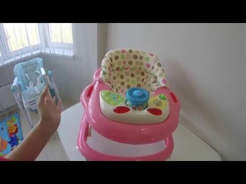 Как выбирать ходунки для ребенка. Какие детские ходунки лучше купить.