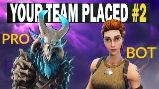 When Your Duo Partner's A Bot | Fortnite