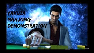 Yakuza 6 Mahjong Demonstration