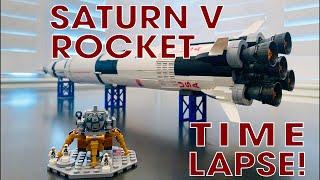 Saturn V Rocket 37003 - Timelapse - LEPIN