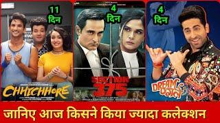 Dream Girl vs Chhichhore   Box Office Collection, Ayushman Khurana, Shraddha Kapoor, sushant singh
