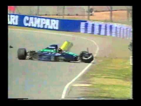 1991 Australian Grand Prix, spins and crashes
