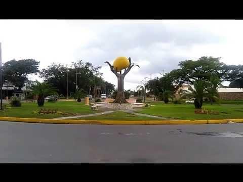 Corto recorrido por  la ciudad de San Carlos, Edo. Cojedes Venezuela.