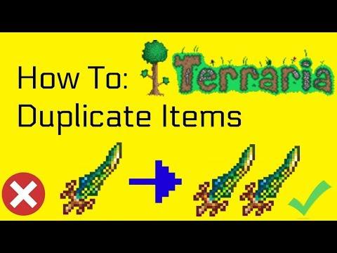 Terraria  Duplication Glitch!!! (Xbox360/One/PS4)