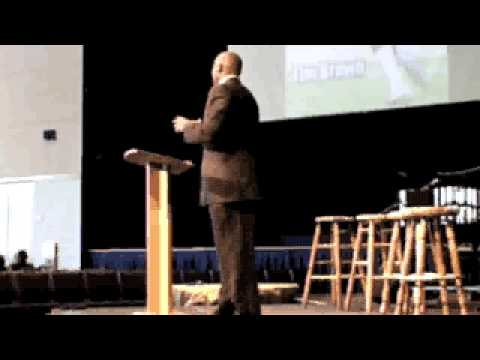 Character Coaching: Tim Brown Speaks at a Playmakers Event
